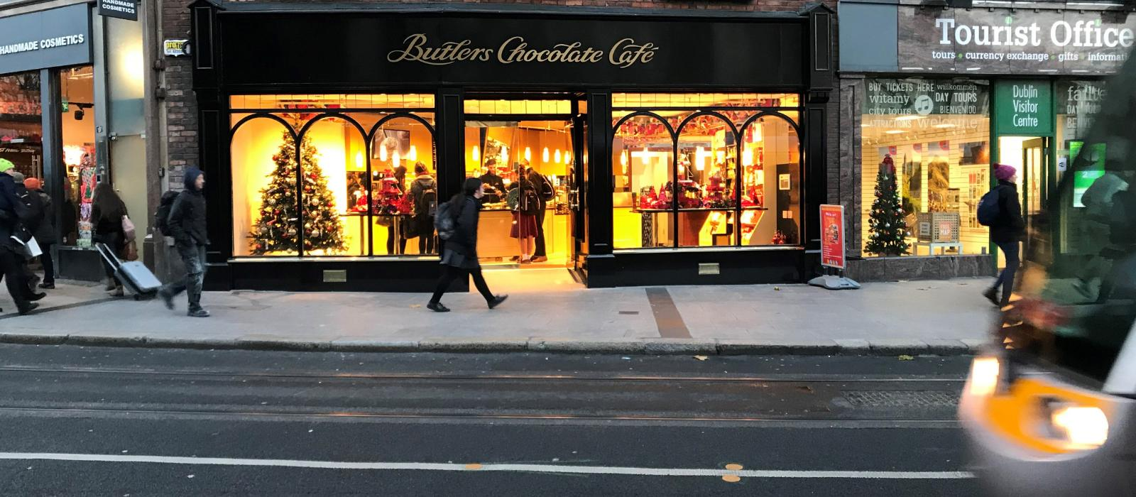 careers in Butlers Chocolates, Butlers Chocolate Café